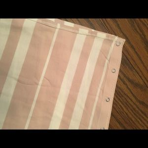 Lululemon Mauve Stripe Snap Infinity Scarf
